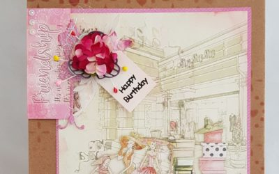FabScraps C113 Book Club Happy Birthday Gift Bag