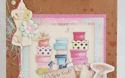FabScraps C113 Book Club Mini Gift Bag